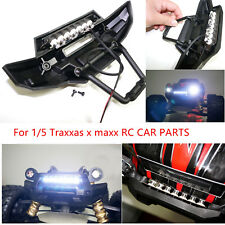Front Bumper headlight LED light bar for 1/5 Traxxas x maxx RC CAR PARTS New