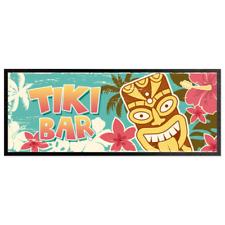 Tiki Barrette Maschera Runner Cocktail Party Tappetino Man Caverna Accessorio