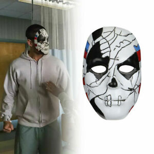 Cosplay The Punisher 2 Billy Russo Mask Costume Props Halloween Masquerade Mask