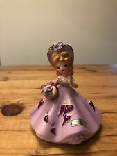 Josef Originals Hearts February Figurine with Tiny Chips