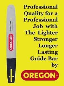 "Oregon 15"" Speedcut Guide Bar for Husqvarna 40 136 141 246 435 440 455 Chainsaws"