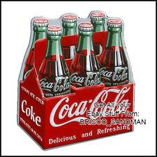 Fridge Fun Refrigerator Magnet COCA COLA Six Pack Specialty Die Cut