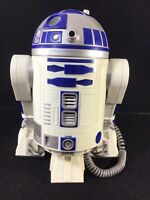 VINTAGE 1997 STAR WARS R2-D2 TELEPHONE WORKING LIGHTS AND SOUND