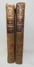 ***** POESIES DE MADAME ET DE MADEMOISELLE DESHOULIERES - EN 2 VOLUMES - 1745