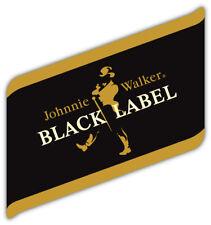 Johnnie Walker Black Label Logo Sticker Car Bumper Decal  - 9'', 12'' or 14''