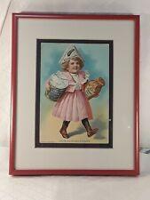 Antique Heinz Advertising Card Framed