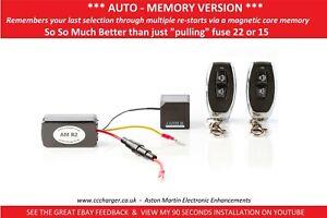 AUTO MEMORY Aston Martin Exhaust By-pass Remote Control V12 Vantage, DB9, DBS
