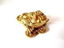 Gold Feng Shui Frog