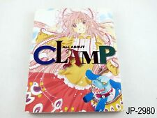 All About Clamp Japanese Artbook Japan Manga & Anime Art Guide Book US Seller