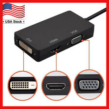 Thunderbolt/Mini Display Port/DP to VGA/HDMI/DVI Adapter For Macbook Pro Air Mac