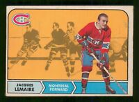JACQUES LEMAIRE 68-69 O-PEE-CHEE 1968-69 NO 63 VGEX+ 7335