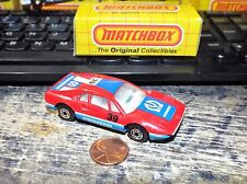 "Matchbox Lesney Superfast No70 FERRARI 308 GTO with PIONEER "" DARK BLUE TAMPOS"