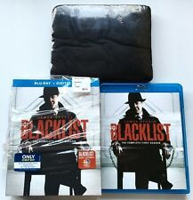 THE BLACKLIST FIRST SEASON BLU RAY BEST BUY EXCLUSIVE + SLIPCOVER & T-SHIRT