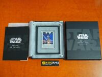2017 $2 NIUE PROOF SILVER RETURN OF THE JEDI STAR WARS POSTER BAR W/ BOX/COA
