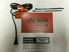 "60W Battery Heater Warmer Pad 5.5 X 8.5"" Wolverine Premium Quality 110/120v"