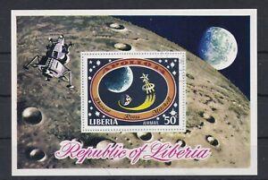 323 Liberia Raumfahrt Block 54 o (545)