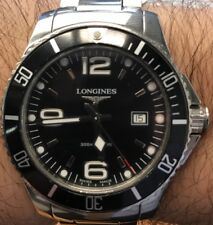 Longines HydroConquest L3.640.4.56.5 Wrist Watch for Men black face