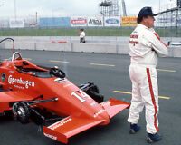 1985 Indy Racecar Driver AJ FOYT Glossy 8x10 Photo Indianapolis 500 Print Poster