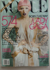 Vogue Magazine Lady Gaga Spring Fashion 570 Pages! NO ML March 2011 070215R