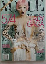 Vogue Magazine Lady Gaga Spring Fashion 570 Pages! NO ML March 2011 070215R