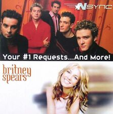 *NSYNC / BRITNEY SPEARS Your #1 Requests…And More CD Album 2000 NEUWARE Pop Hits