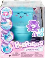 Pooparoos Surpriseroos! Blue Potty Play Children's Toy - Surprise Figure Inside