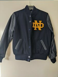 Notre Dame Rudy Vintage Wool And Leather Jacket