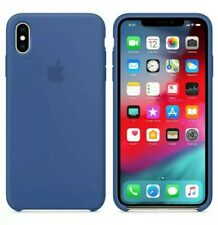 Apple Silicone Case for iPhone XS Max - Delft Blue