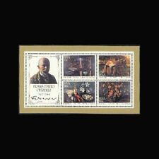 South Africa, Sc #651a, MNH, 1985, S/S, Paintings, Frans David Oerder, CL056F