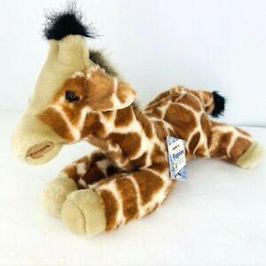 Aurora Plush Flopsies Zenith Giraffe Plush Bean Filled Stuffed Animal Adoption