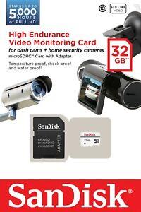 32GB SD Memory Card For Transcend DrivePro 100 Dash Cam Digital Camera