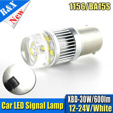1X Ba15s P21W 1156 Led Car Brake Tail Ligth Bulb CREE 30W White DC 12-24V 6000K