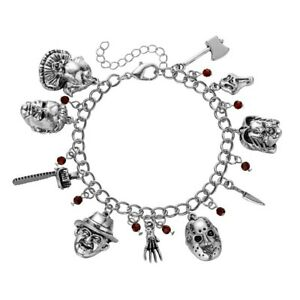 Horror Movie Characters Unisex Bangle Charm Bracelet Fashion Pop Jewelry NEW