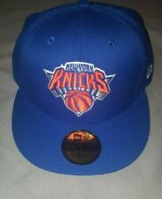 NBA NEW YORK KNICKS SOLID TEAM NEW ERA 59 FIFTY FITTED MENS HAT 7 1/8  20869179