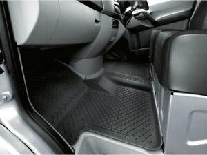 Genuine Mercedes Benz Sprinter W 906 All Season Rubber Floor Mat Set RHD Black