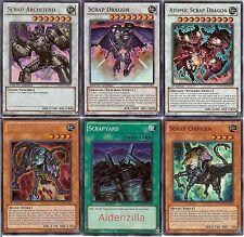 Yugioh Scrap Deck - Atomic Dragon Archfiend Orthros Chimera Scrapstorm Scrapyard