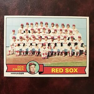 1979 Topps Set BOSTON RED SOX TEAM CHECKLIST #214 UNMARKED NM/MINT+ VENDING