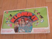 VTG 1972 WALT DISNEY CHARACTERS GAF VIEWMASTER KLOMP-IT GAME SEALED IN BOX