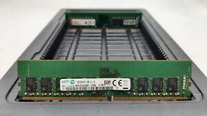 LOT 2 SAMSUNG KINGSTON 16GB 2Rx8 DDR4 PC4-2133P-U 17000 NON ECC DIMM MEMORY RAM