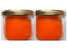 2 x 80 GR. Orange Tobiko roe/Caviar caviar.Great for sushi. FREE delivery