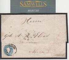 MS780 1863 Austria-Ungheria Romania * crajowa * copertura Vienna {samwells-copre}