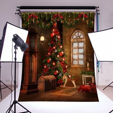 Christmas Photography Background,Drillpro Background Fabric Customized Backdrop