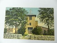 Vintage Postcard Oldest Church in US San Miguel Mission Santa Fe New Mexico