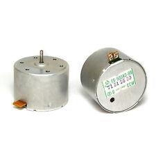 2x Audio-Tape / Tonwellen-Motor Mabuchi EG-500AD-9B, 9V DC, 2400 U/min CCW, NOS