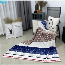 Heavy Korean Style Mink Blanket Microfiber Silky Plush Warm Bed Blanket
