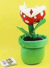 SUPER MARIO BROS. PIANTA PIRANHA PELUCHE Plush Plant Re Boo Nintendo Peach Luigi
