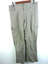 """Kuhl Womans Gray Cargo Pants Size 12 """"N"""""""
