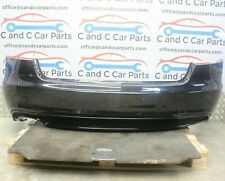 Audi A5 Complete Rear Bumper with PDCs in Mythos Black Facelift 8T 29/9