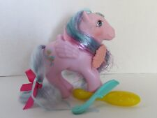 MY LITTLE PONY G1 PRINCESS BRUSH N GROW BRILLIANT BLOOM ACCESSORIES STILL WORKS