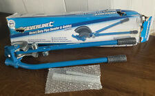 Silverline Heavy Duty Pipe Bender & Guides 745mm (MS124)